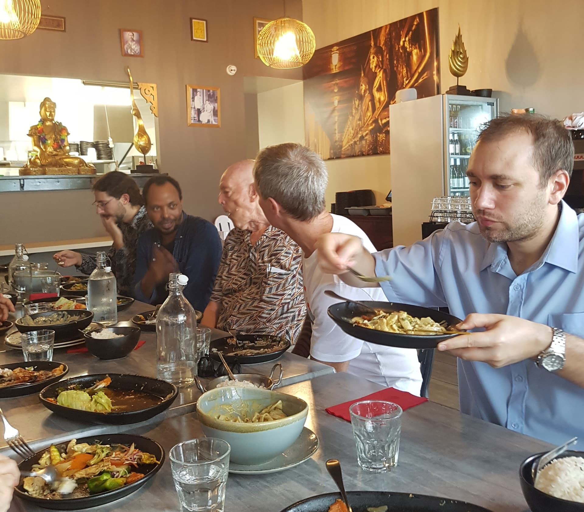 Lunch attendees