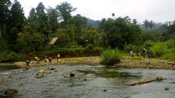 Solomon Islands village