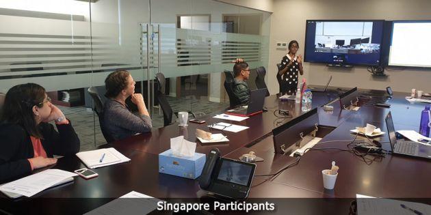 Singapore paricipants.
