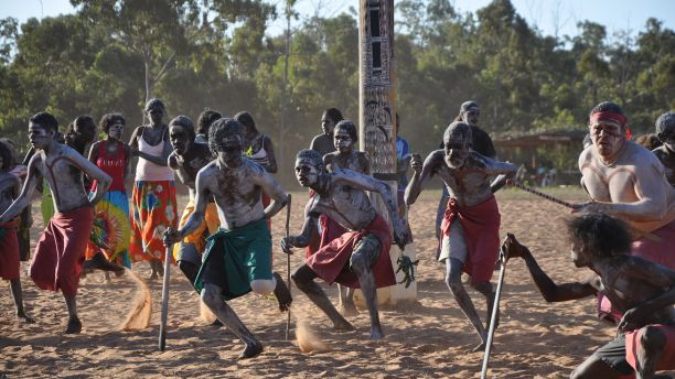 Aboriginal traditional dancing