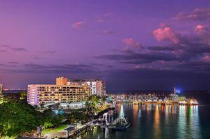 Cairns Marina and Hilton Hotel