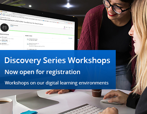 Discovery Series workshops graphic