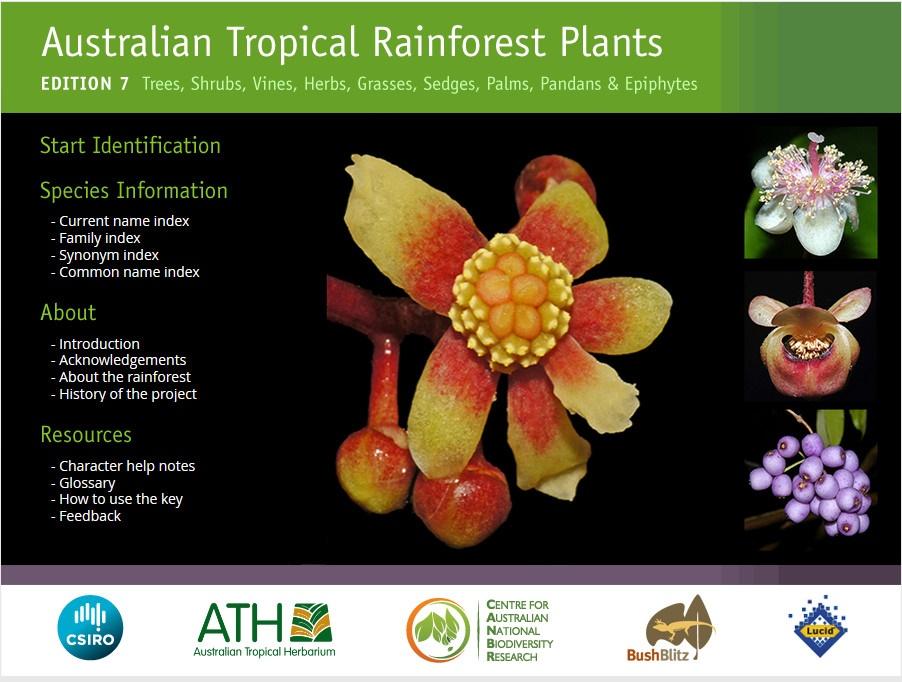 Australian Tropical Rainforest Plants guide edition 7