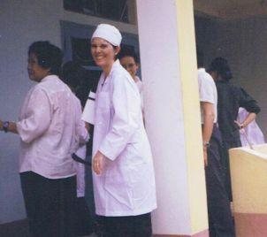 Maxine Whittaker in Vietnam