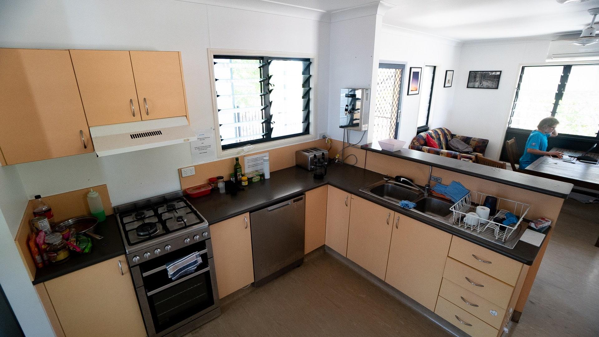 Pelorus kitchen.