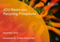 Waste procedures icon