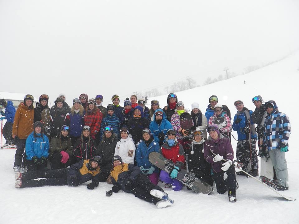 Japan ski trip