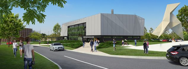 artist's impression of Cairns Innovation Centre