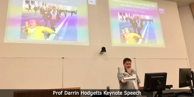 Prof Darrin Hodgetts ketnote speech.
