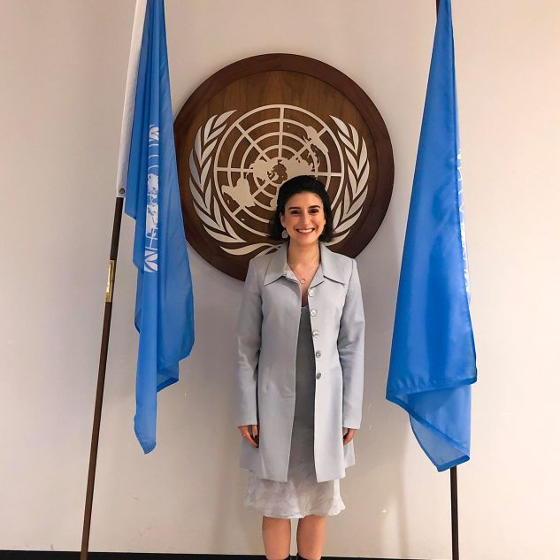 Isabelle Nehme at the United Nations