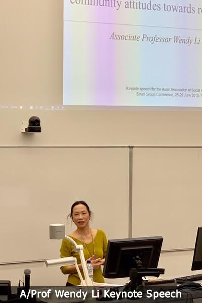 Prof Wendy Li keynote speech.