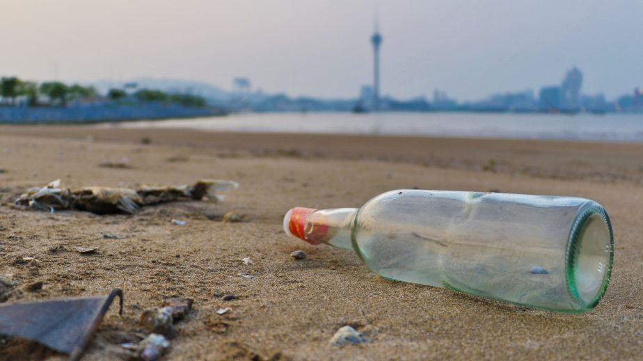 Waste glass