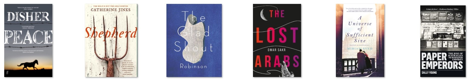 Shortlist book covers