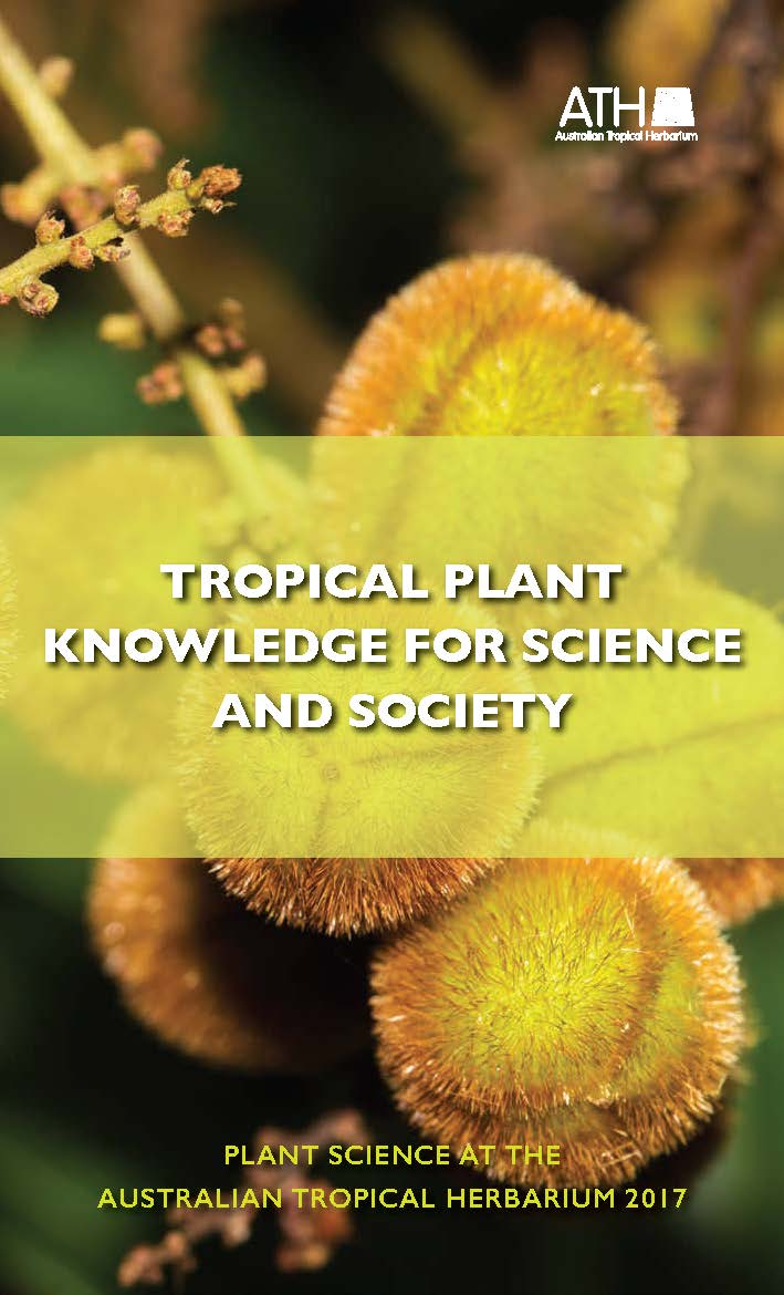 """""""Tropical plant knowledge for science and society 2017"""" Book cover"""
