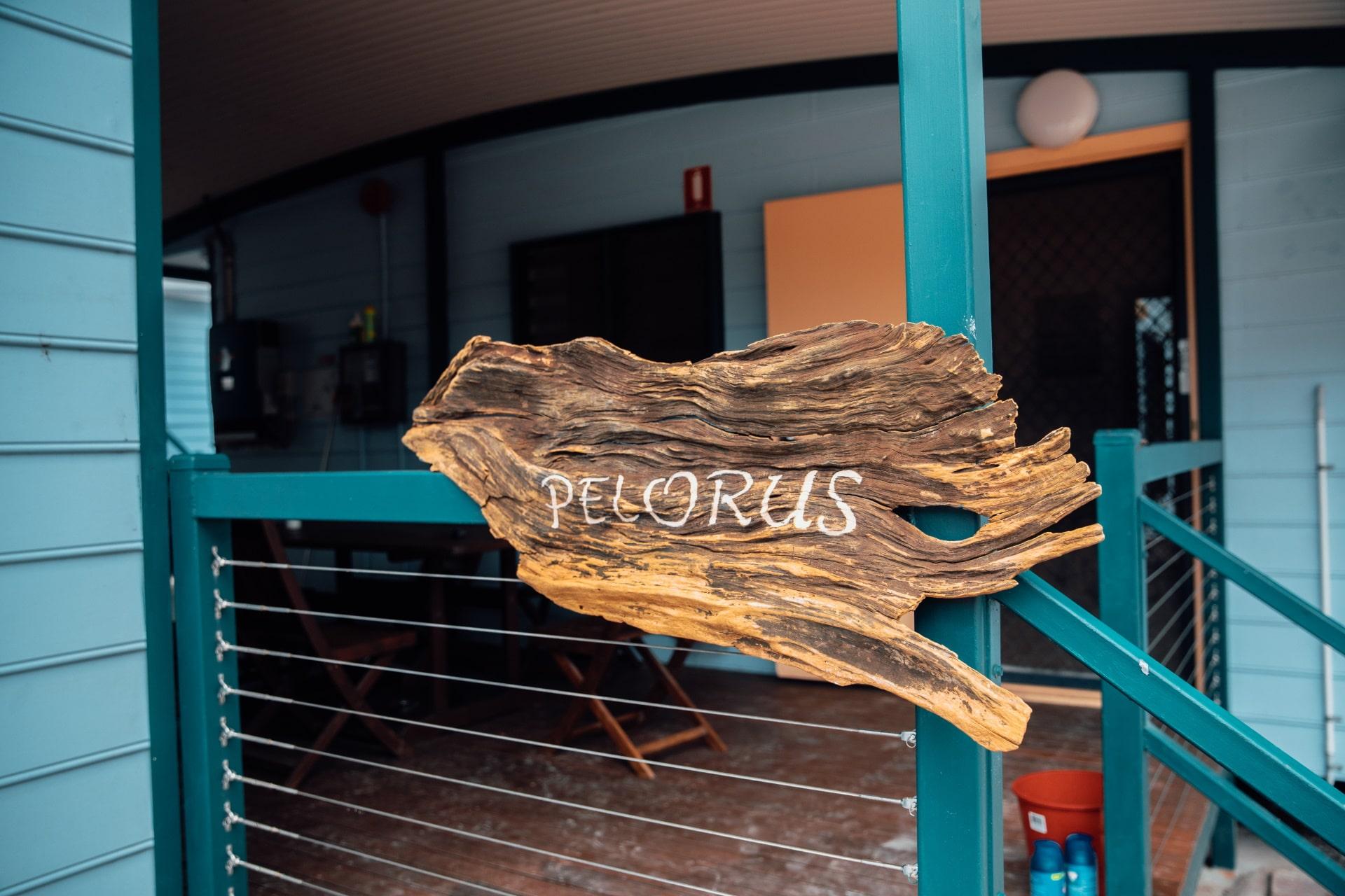 Entrance to Pelorus.