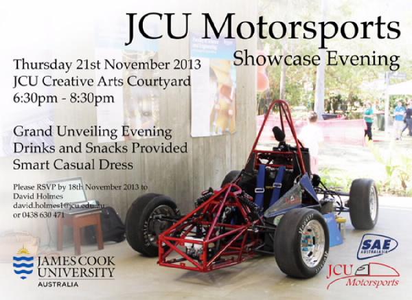 Showcase evening flyer