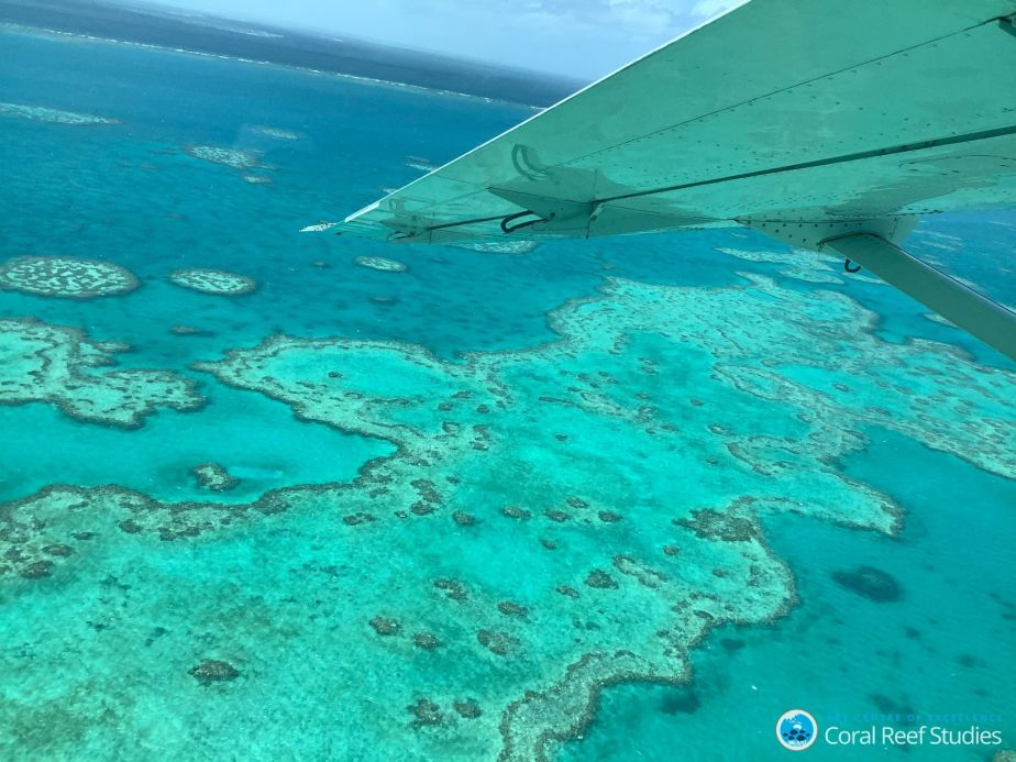 Aerial view of GBR