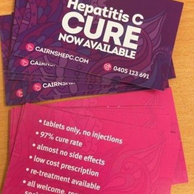 Hepatitis information brochures