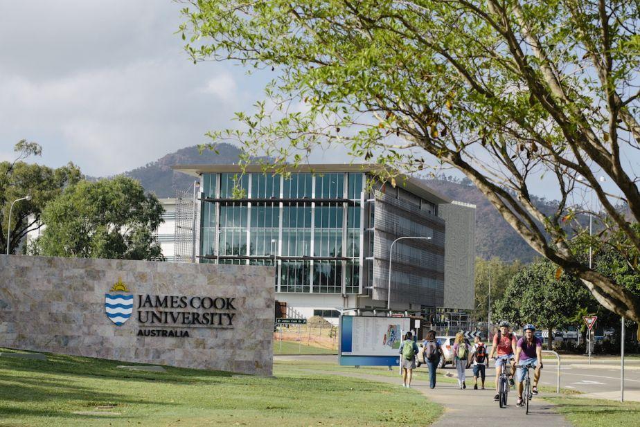 JCU campus entrance