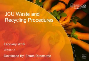 JCU's Waste & Recycling Procedures image