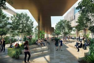 Townsville Campus Master Plan Concept Drawing