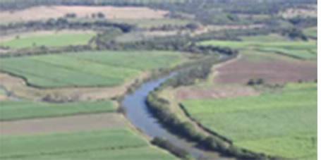 Photo of Stream corridor with aquatic habitat values on coastal floodplain