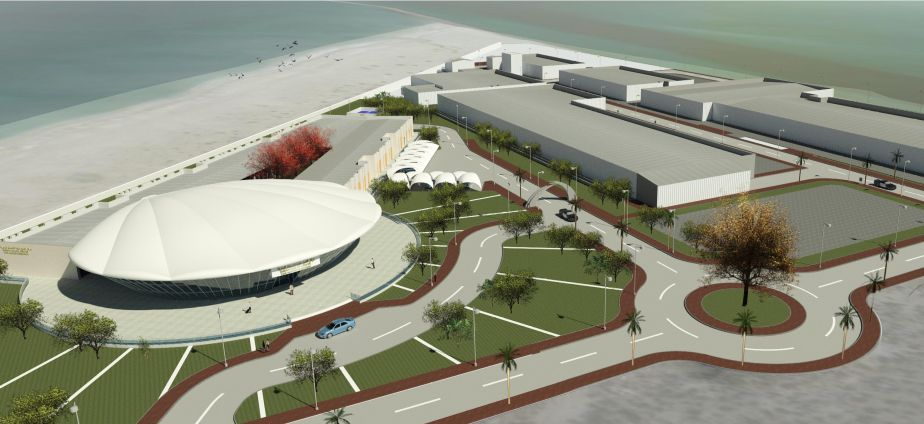 Artist impression of the Marine Innovation Park