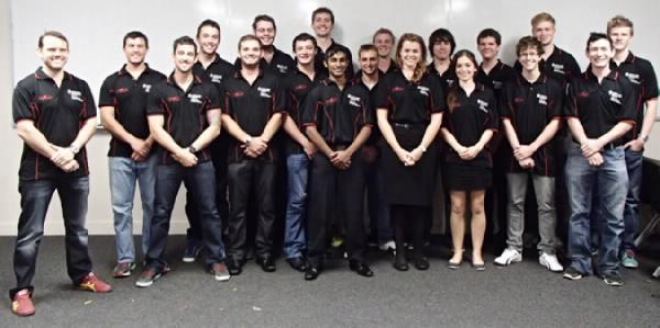 2013 JCU Motorsports Team Photo