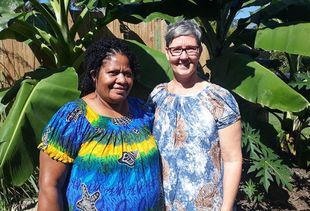 Researchers Rachael Tommbe and Dr Michelle Redman-MacLaren