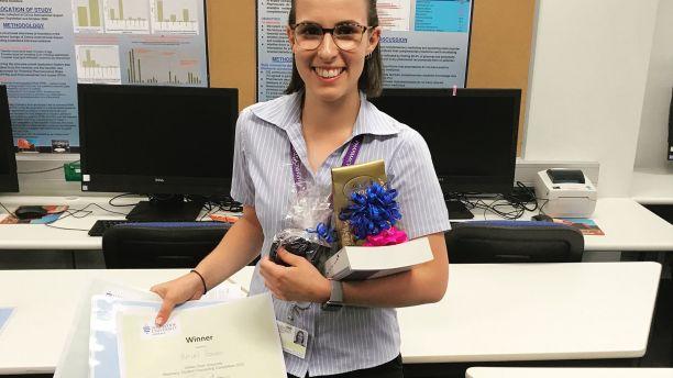 Hayley Rosadi winner of Pharmacy Student of the Year at JCU