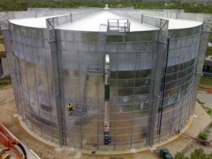 JCU CDC tank