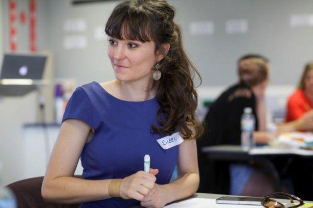 PhD student Eileen Siddins.