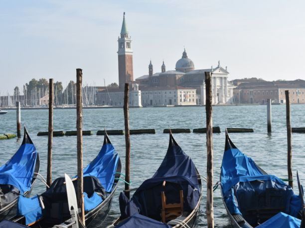 Gondolas in Venice. Image: Lisa Law