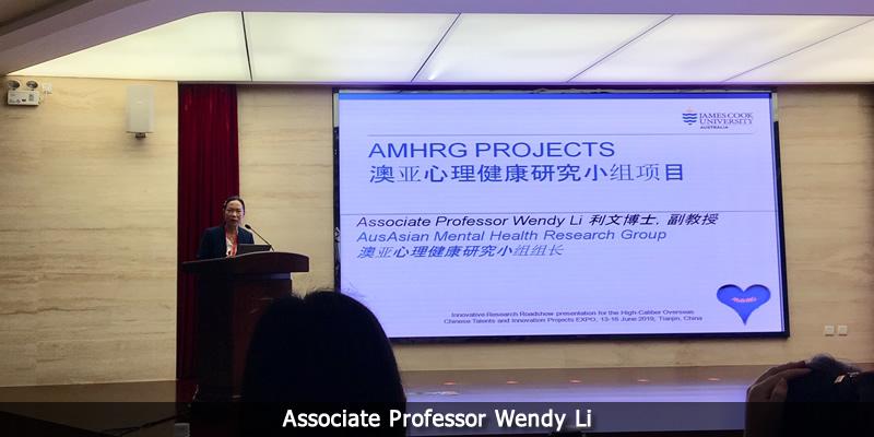 Associate Professor Wendy Li.