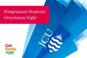 Postgraduate Students' Orientation Night - Townsville image