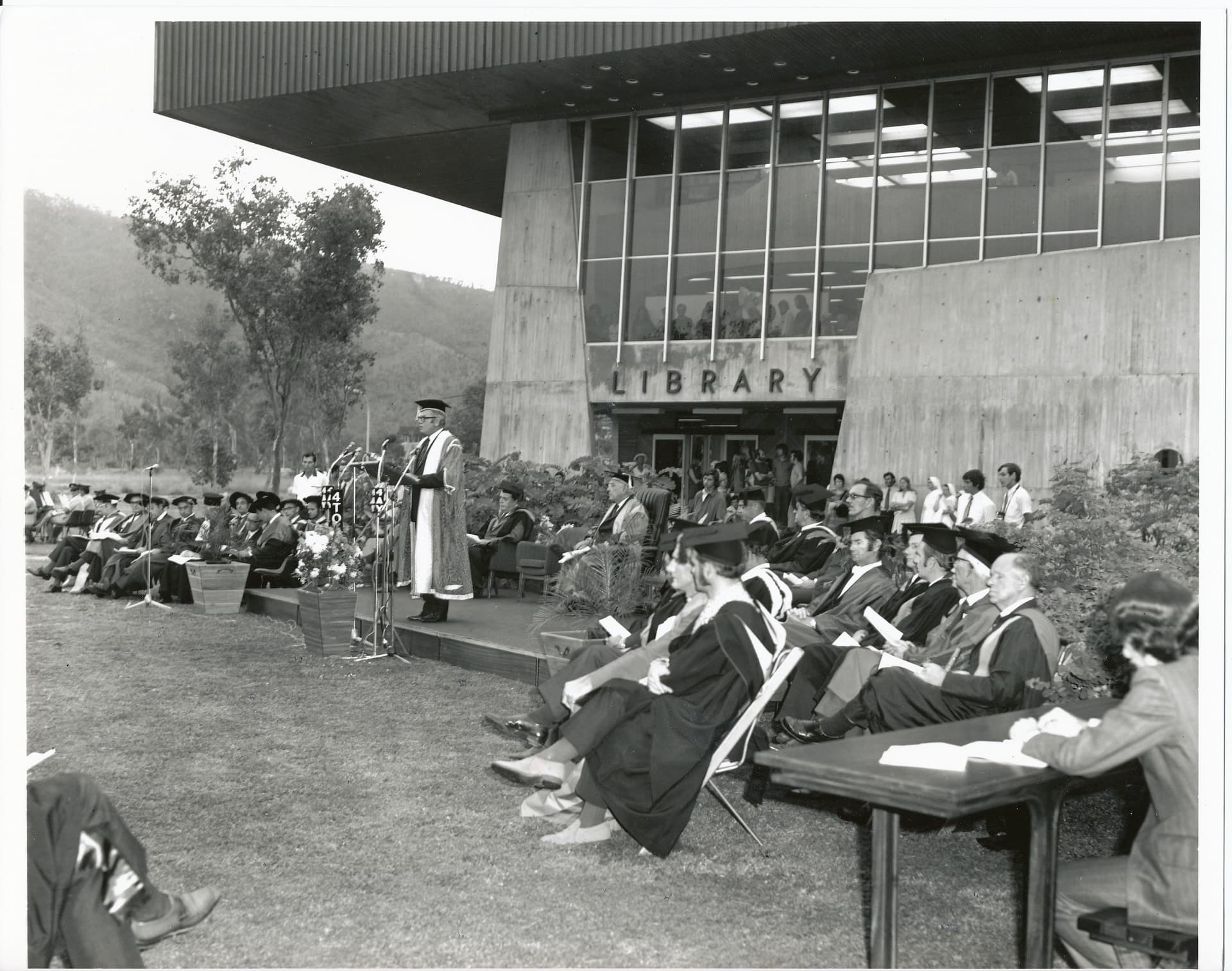 1972 Graduation Ceremony