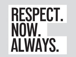 Respect.Now.Always logo