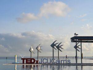 TEDxJCU Cairns on the Cairns Esplanade