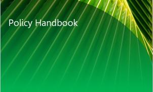 Policy Handbook
