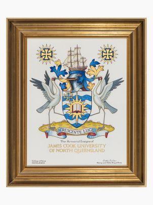 JCU armorial emblem