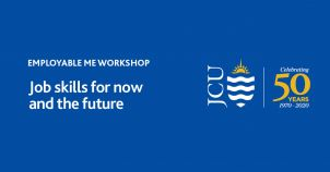 JCU Employability Workshop Series: Job Skills for Now and the Future image