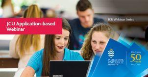 JCU Application-based Programs Webinar image