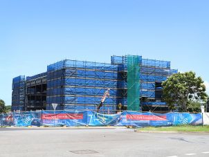 JCU Ideas Lab under construction