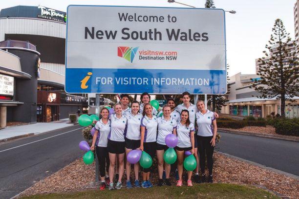 Run to Better Days team reaches NSW border