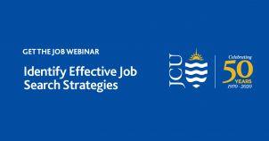 Get the Job Webinar: Identify Effective Job Search Strategies image