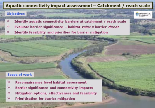 aquatic connectivity impact assessment