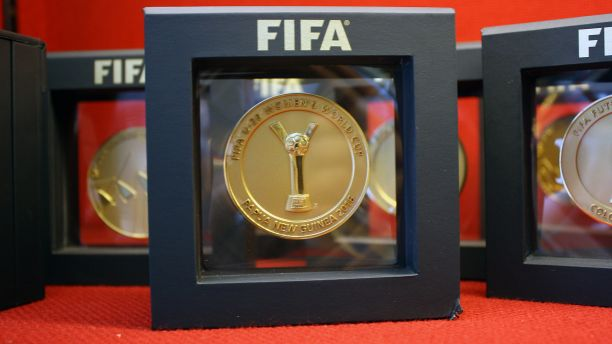 PNG Womens FIFA trophy 2016