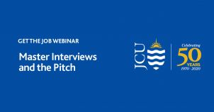 Get the Job Webinar: Master Interviews and the Pitch image