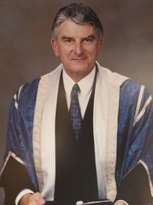 Former Vice-Chancellor Bernard Moulden