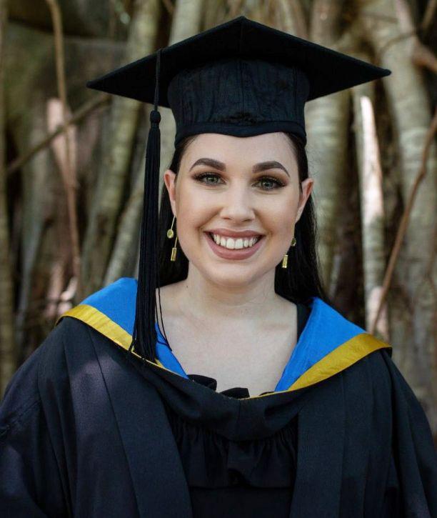JCU Speech Pathology graduate Brittany Vella